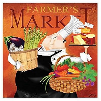 Ceaco Bon Appetit! Farmer's Market Puzzle (300 Piece): Toys & Games