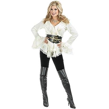 Amazon.com: Charades Women's South Seas Long Sleeve Blouse: Clothing