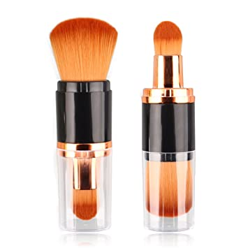 edc2fff4ae41a Mini Travel Make Up Brush Contour Foundation Face Powder Brush IS MINE  Multifunctional Makeup Brush