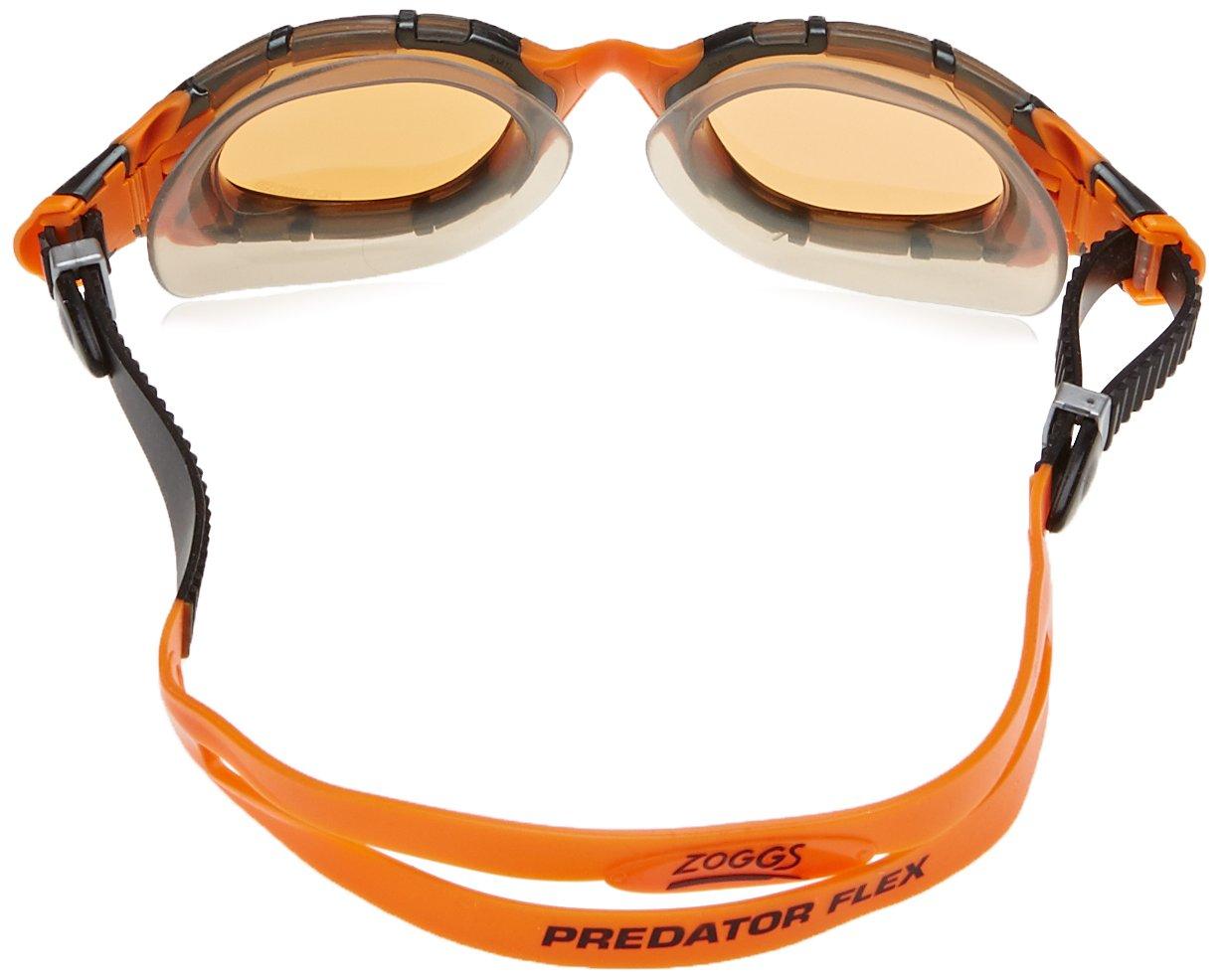 Zoggs Predator Flex Polarized Ultra - Gafas de natación, color negro/naranja, talla única: Amazon.es: Deportes y aire libre