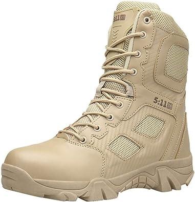 Zapatillas de Hombre de BaZhaHei Botas Militares y cómodas Botas ...