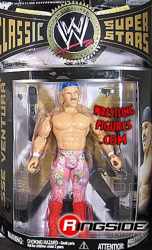 WWE Wrestling Classic Superstars Series 21 Action Figure Jesse Ventura