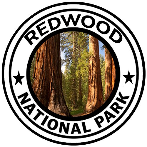 Rogue River Tactical Redwoods National Park Sticker 5