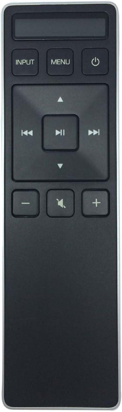 New Home Theater Sound Bar Remote Control XRS551-C Remote fit for Vizio SB3851-C0 SB3851-C0M SB4051-C0 with Display Panel