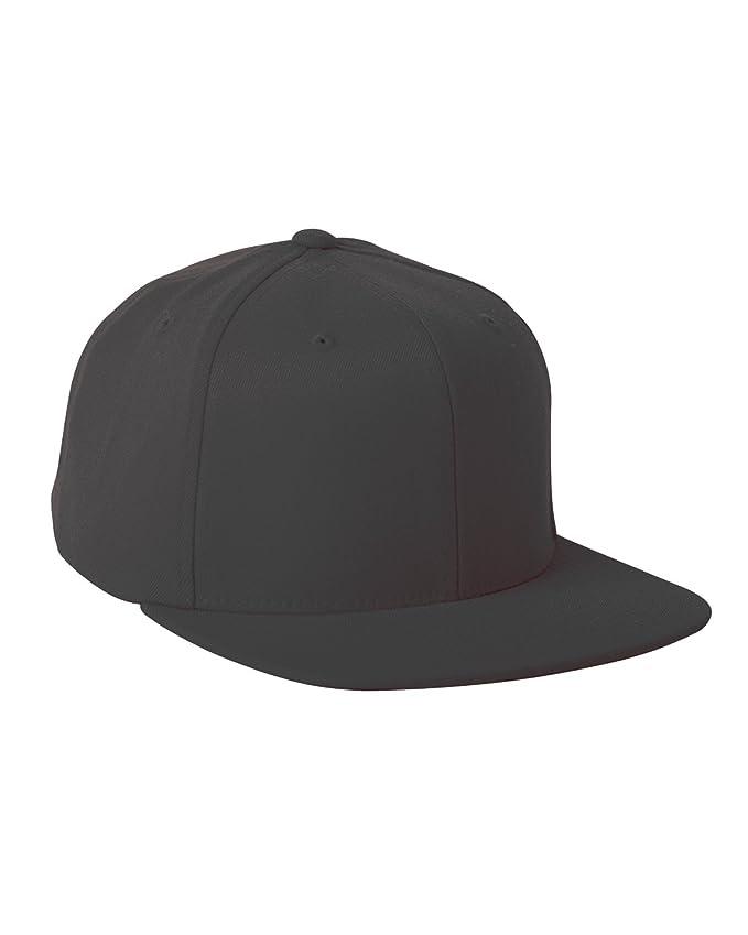 Flexfit 110F One Ten Snapback Hat Black at Amazon Men s Clothing store   Baseball Caps 6c01c394d023