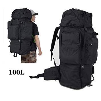 Backpack Suitable for Mountaineering Camping Adventure Mountaineering 35 Liters of Waterproof Capacity Outdoor Adventure Hiking Bag Suitable for Men and Women