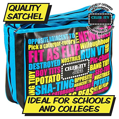Satchel Celebrity Juice Messenger Messenger Juice Satchel Celebrity Bag Comedy Funny Pq5YdwY