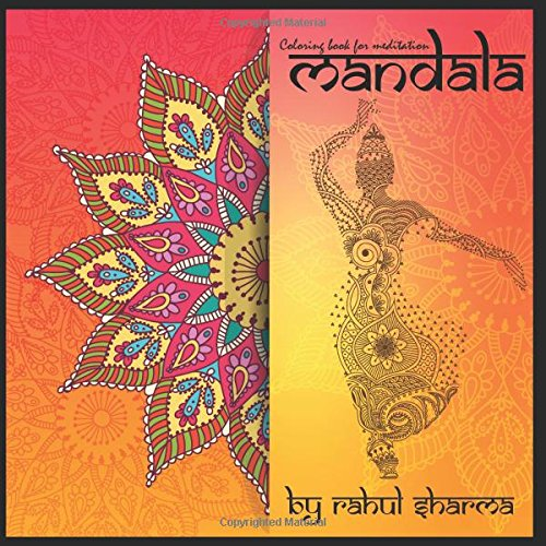 Mandala - A colorful journey to spirituality and meditation: Coloring book for relaxation and relief from stress