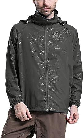 Otterline Womens Poly Memory Hooded Outdoor Mid-Length Trench Coats winderbreak rain Jacket
