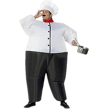 Traje inflable Disfraces Hinchable de Cocinero Adulto para ...