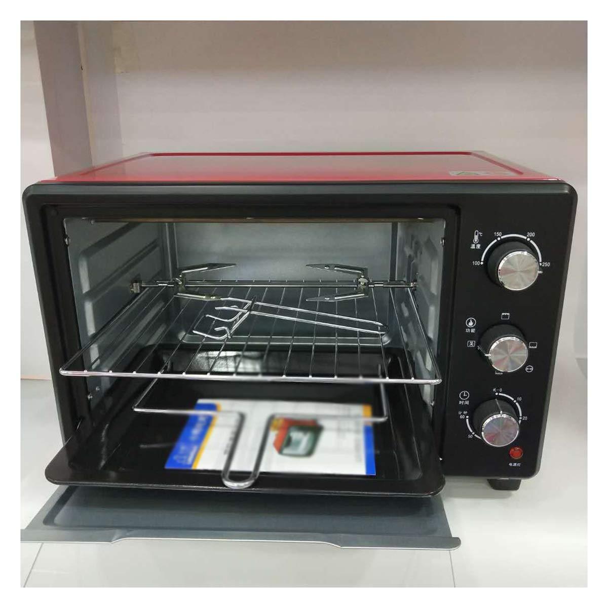 PANGU-ZC ミニオーブン - 多層オーブンオーブン焙煎位置調整可能なミニオーブン30 L回転フォーク家庭用オーブン -オーブン   B07R56J4PB