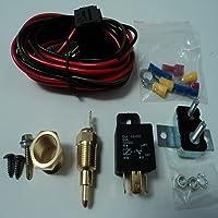 Togames-ES Interruptor de Temperatura Universal Sensor del Motor