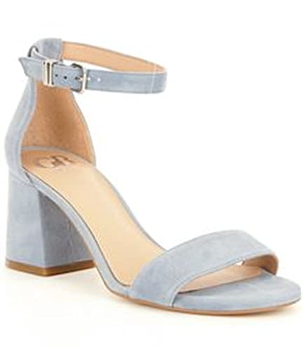 GB Block-Party Nubuck Ankle Strap Block Heel Dress Sandals GvIA60GCvl