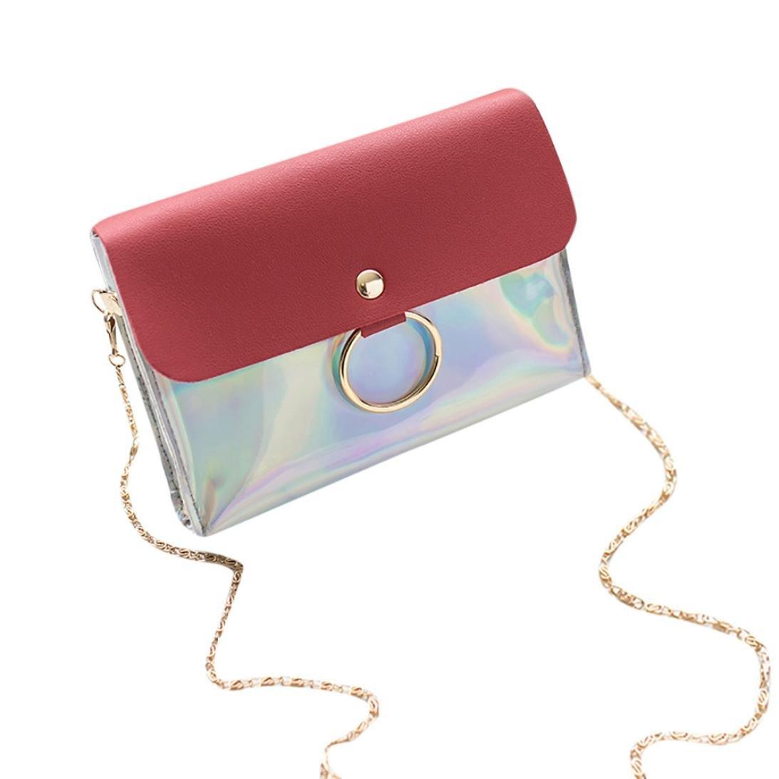 Mujeres lentejuelas de la manera cubren bolso del bolso de la bolsa del bolso de la bolsa de la bolsa de hombro del bolso de Crossbody ☚Longra: Amazon.es: ...
