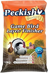 Peckish 00130 Game Bird Layer/Finisher, 18kg