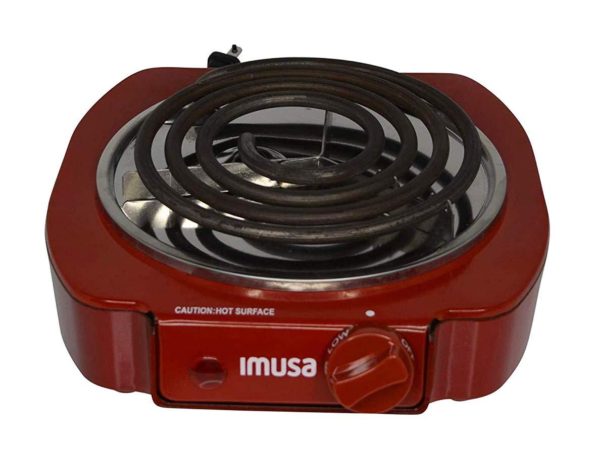 Amazon.com: Cocina eléctrica de una hornilla IMUSA ...