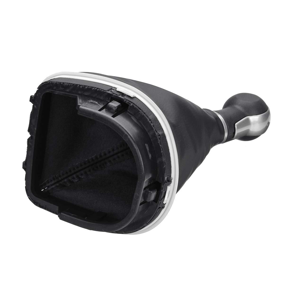 Viviance 5 6 Speed Gear Palanca De Cambios Stick Gaiter Boot para Seat Altea Leno II Y para Toledo III 5 Velocidad De
