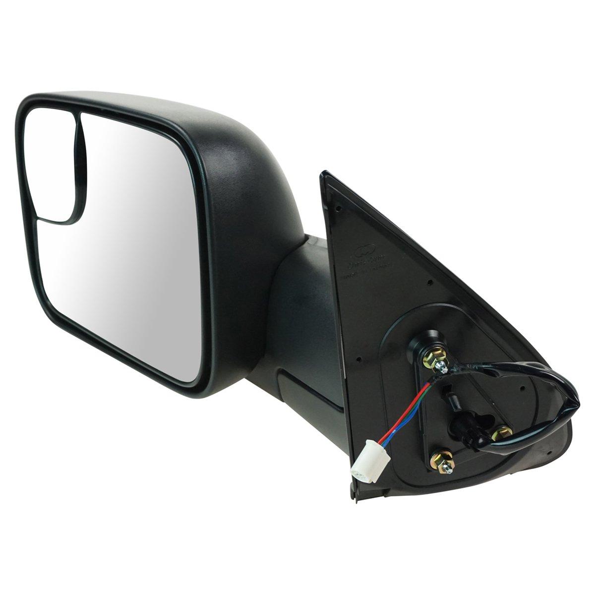 613zs7WYx7L._SL1200_ amazon com trail ridge tow mirror power textured black flip up pair