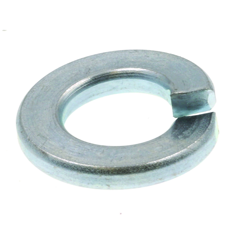 Prime Line 9082039 Medium Split Lock Washers 1 4 in. Zinc Plated Steel 100 Pack