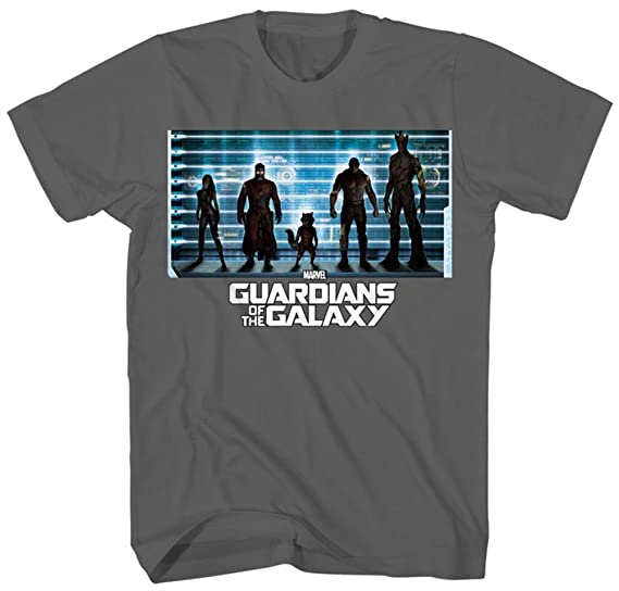 566bed14a02db Amazon.com  Mad Engine Marvel s Guardians of the Galaxy Line-Up T ...