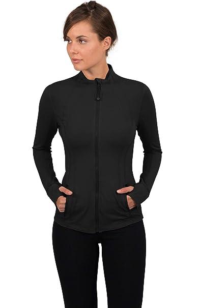 90 Degree By Reflex Women's Lightweight, Full Zip Running Track Jacket by 90 Degree+By+Reflex