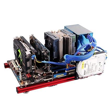 Carcasa abierta para PC, marco de aleación de aluminio mini ...