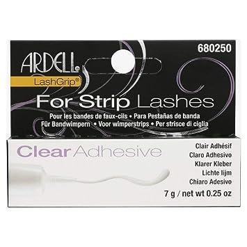 dafce9c9b82 Amazon.com : Ardell LashGrip Eyelash Adhesive, Clear 0.25 oz (Pack of 12) :  Beauty
