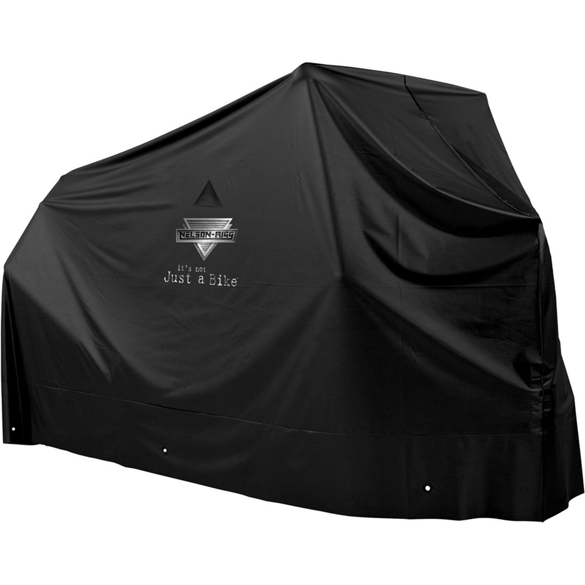Nelson-Rigg MC-900-03-LG Econo Motorcycle Cover, All Weather Protection, 100% Waterproof, UV, Air Vents, Grommets, Large Fits most Sportbikes and Cruiser motorcycles