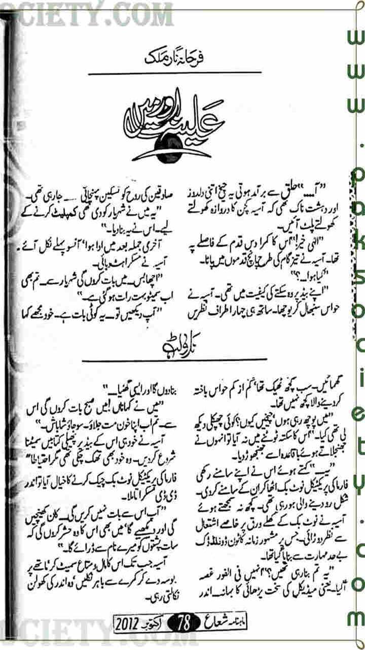Amazon com: Aleena Aur Main Urdu Novel: Appstore for Android