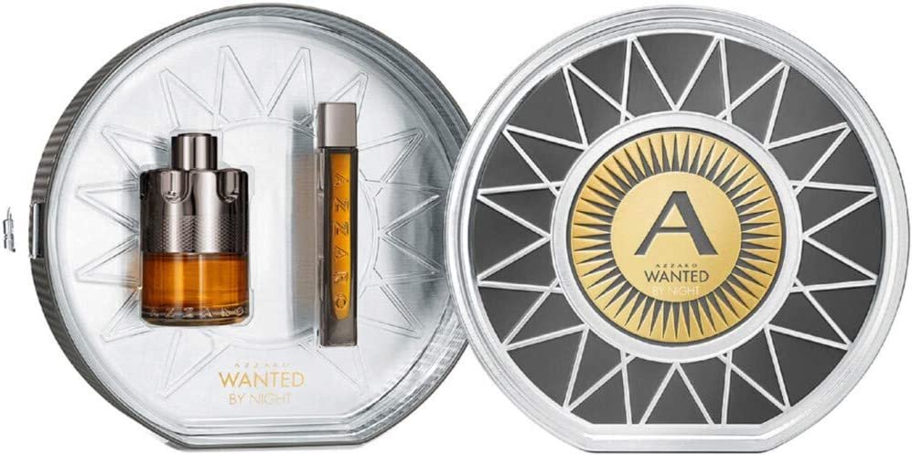 Azzaro 58007 Set Wanted By Night Eau de Parfum y Eau de Parfum, 115 ml