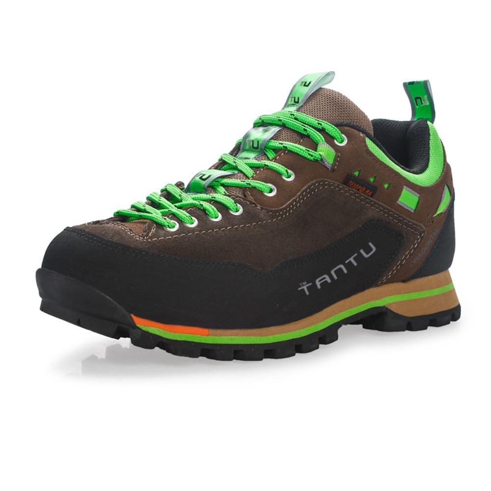 RDJM Zapatos atléticos de los hombres al aire libre a prueba de agua zapatos de senderismo ocasionales zapatillas para correr zapatos de montañista otoño invierno , b , 40 40|b