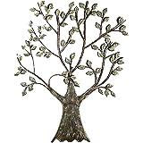 e0e36e46685cea Formano Wanddeko 'Baum', 76 cm, silber, naturfarben: Amazon.de ...