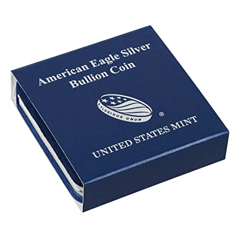 Amazon.com: Original US Mint American Silver Eagle Storage Box For Bullion  Coin (No Coins) OGP US Mint: Toys U0026 Games