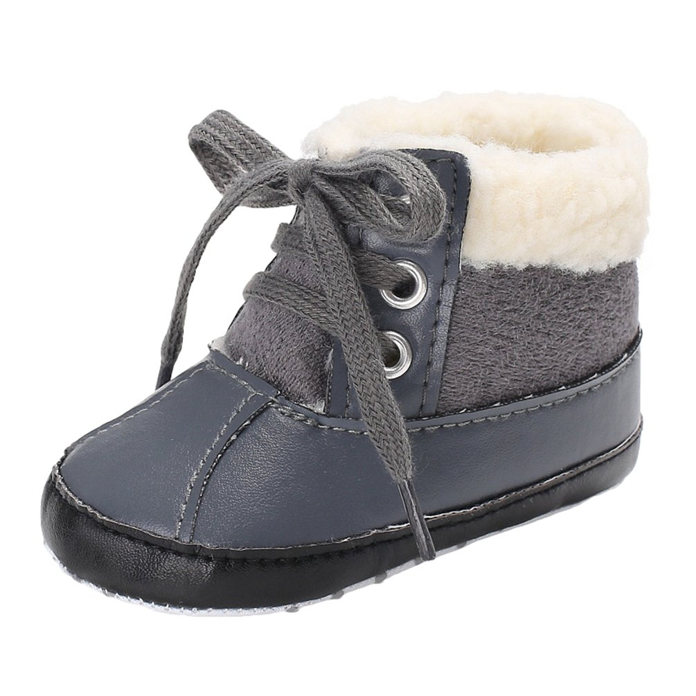 YiJee Baby Boys Fashion Winter Shoes Anti-slip Soft Toddler Snow Boots:  Amazon.co.uk: Shoes & Bags