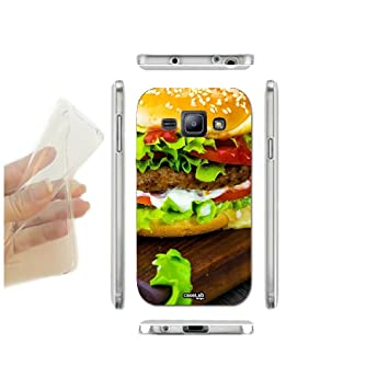 coque samsung j3 2016 hamburger