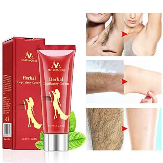 Ofanyia Herbal Depilatory Cream Hair Growth Inhibitor Hair Removal Cream for Women and Men best hair removal cream for men