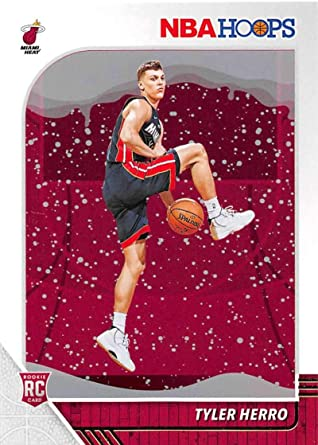 Amazon Com 2019 20 Panini Hoops Winter 210 Tyler Herro Miami Heat Rc Rookie Nba Basketball Trading Card Collectibles Fine Art