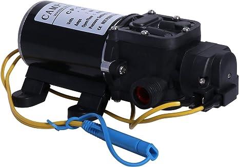New RV Marine 12V DC 4.3L//Min 35 PSI Fresh Water Diaphragm Self Priming Pump