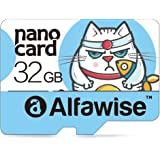 Alfawise A32 - Tarjeta de memoria 32GB,Micro SD Clase 10 UHS-1 Tarjeta de memoria Transferencia de datos súper rápida de alta velocidad lectura 80MB / s