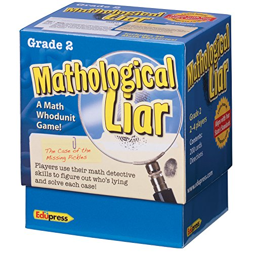 Edupress Mathological Liar Game, Grade 2 (EP63395)