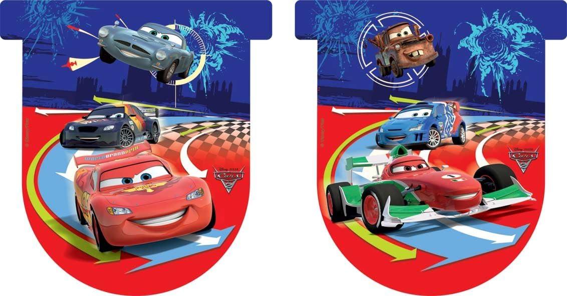 Pack 11 Banderines Con Forma Cars 2: Amazon.es: Juguetes y juegos
