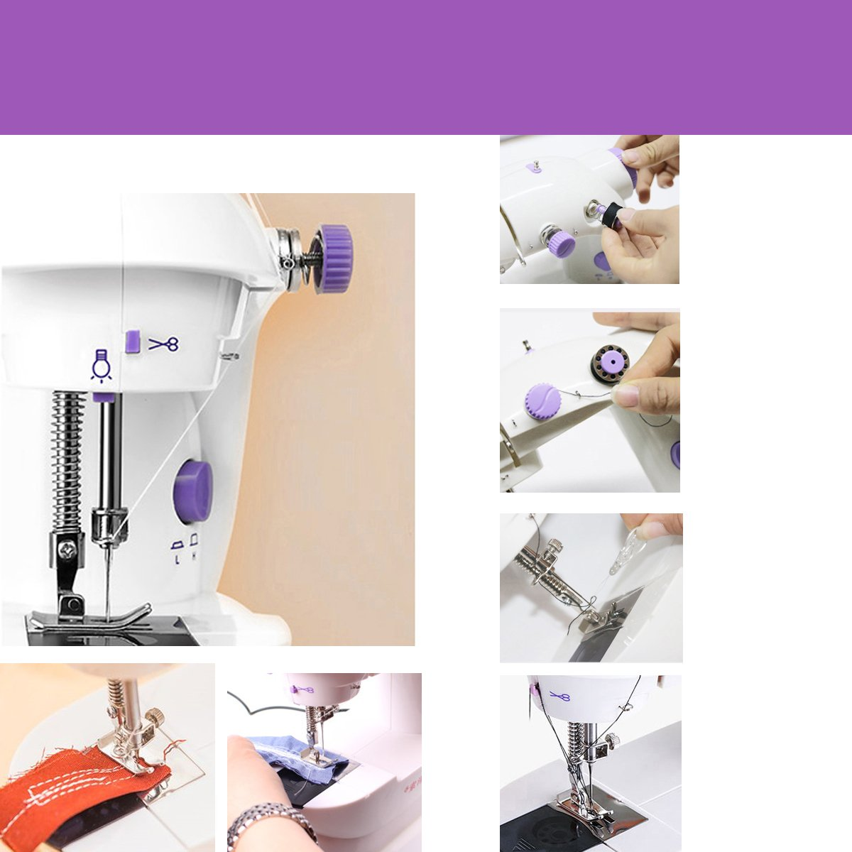 Nähmaschine Mini tragbare nähmaschine elektrische Haushalt ...