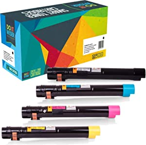 Do it Wiser Compatible Toner Cartridge Replacement for Dell 7130cdn 7130 | 330-6135 330-6138 330-6141 330-6139 (4 Pack, High Yield)