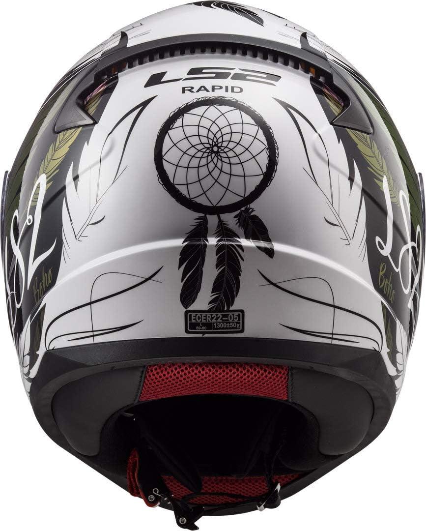 Noir LS2 Casque moto RAPID MAT Noir S
