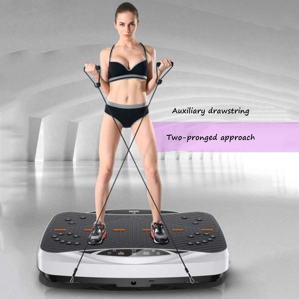 Slimming Slimming Machine Fitness Shake Machine Standing Home Slimming Vibration Machine Lazy Weight Loss Machine Thin Lazy Slimming kyman Color Brown Size 56 40 13CM