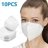 10 máscaras anticontaminación N95 máscara de filtración