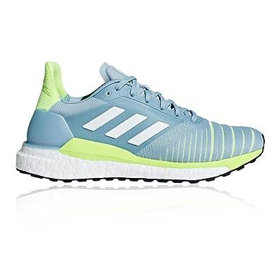 adidas Solar Glide Womens Running Shoes - SS19-5.5 - Blue