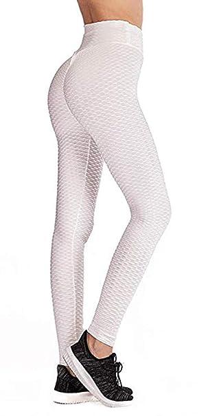 51f921dd5 Amazon.com  2019 Women Yoga Gym Anti-Cellulite Compression Leggings Butt  Lift Elastic Pants  Clothing