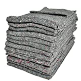 Pack of 25 Furniture Moving Van Removal Packing Transit Fabric Blankets -200cm x 150cm