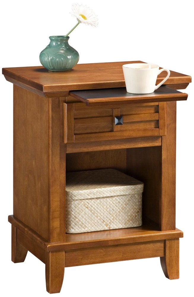 Cottage Oak Finish Home Styles 5180-42 Arts Crafts Night Stand